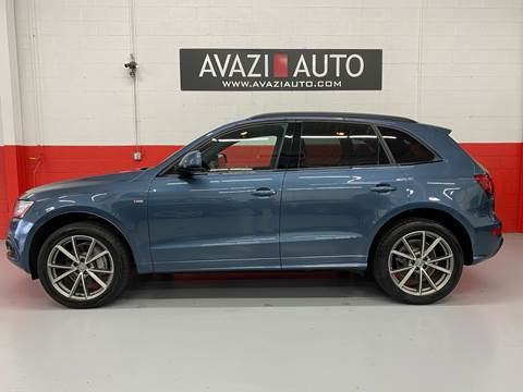 2016 Audi Q5 for sale at AVAZI AUTO GROUP LLC in Gaithersburg MD