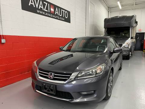 2014 Honda Accord for sale at AVAZI AUTO GROUP LLC in Gaithersburg MD
