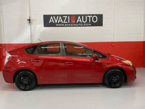 2013 Toyota Prius for sale at AVAZI AUTO GROUP LLC in Gaithersburg MD