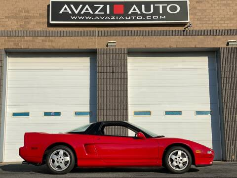 1991 Acura NSX for sale at AVAZI AUTO GROUP LLC in Gaithersburg MD