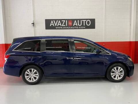 2015 Honda Odyssey for sale at AVAZI AUTO GROUP LLC in Gaithersburg MD