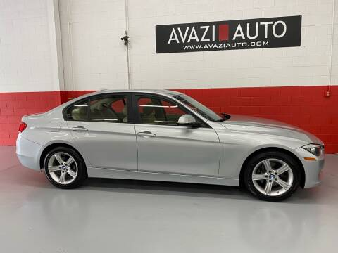 2015 BMW 3 Series for sale at AVAZI AUTO GROUP LLC in Gaithersburg MD