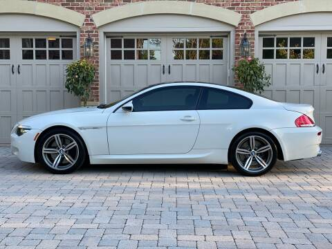 2008 BMW M6 for sale at AVAZI AUTO GROUP LLC in Gaithersburg MD