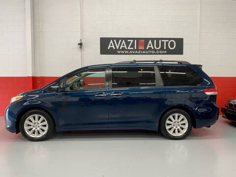 2011 Toyota Sienna for sale at AVAZI AUTO GROUP LLC in Gaithersburg MD