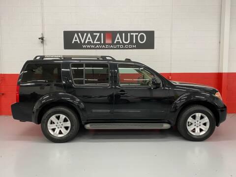 2007 Nissan Pathfinder for sale at AVAZI AUTO GROUP LLC in Gaithersburg MD