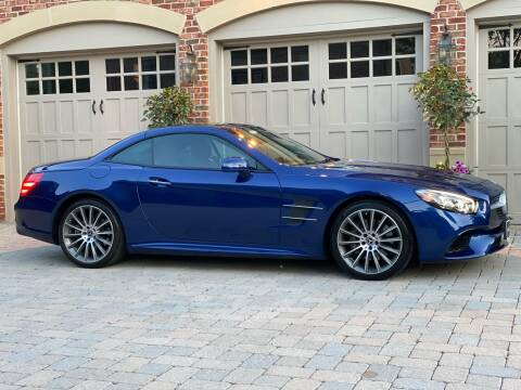 2018 Mercedes-Benz SL-Class for sale at AVAZI AUTO GROUP LLC in Gaithersburg MD