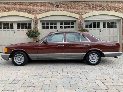1984 Mercedes-Benz 300-Class for sale at AVAZI AUTO GROUP LLC in Gaithersburg MD