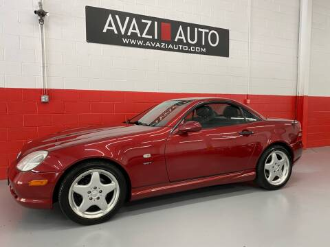 1999 Mercedes-Benz SLK for sale at AVAZI AUTO GROUP LLC in Gaithersburg MD