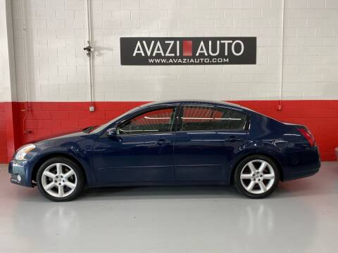 2006 Nissan Maxima for sale at AVAZI AUTO GROUP LLC in Gaithersburg MD