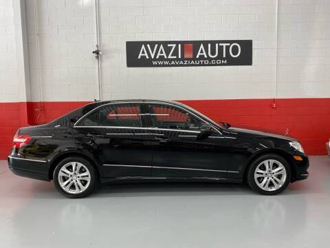 2010 Mercedes-Benz E-Class for sale at AVAZI AUTO GROUP LLC in Gaithersburg MD