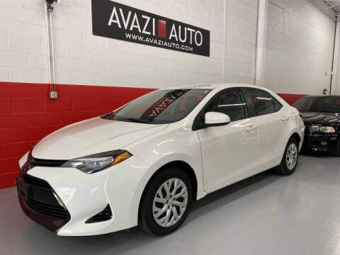 2017 Toyota Corolla for sale at AVAZI AUTO GROUP LLC in Gaithersburg MD
