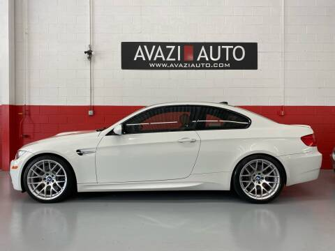 2011 BMW M3 for sale at AVAZI AUTO GROUP LLC in Gaithersburg MD