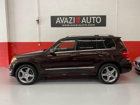 2013 Mercedes-Benz GLK for sale at AVAZI AUTO GROUP LLC in Gaithersburg MD