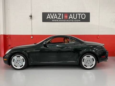 2005 Lexus SC 430 for sale at AVAZI AUTO GROUP LLC in Gaithersburg MD