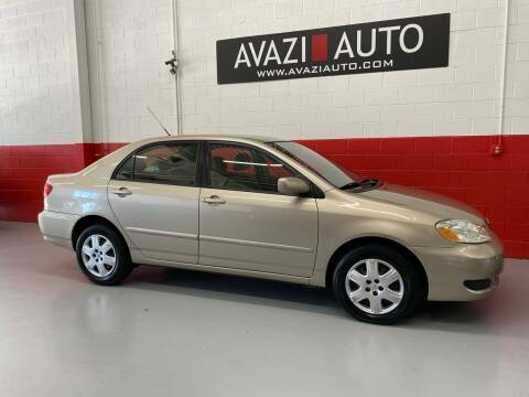 2007 Toyota Corolla for sale at AVAZI AUTO GROUP LLC in Gaithersburg MD