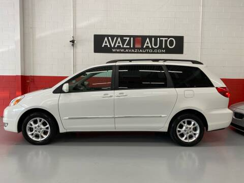 2004 Toyota Sienna for sale at AVAZI AUTO GROUP LLC in Gaithersburg MD