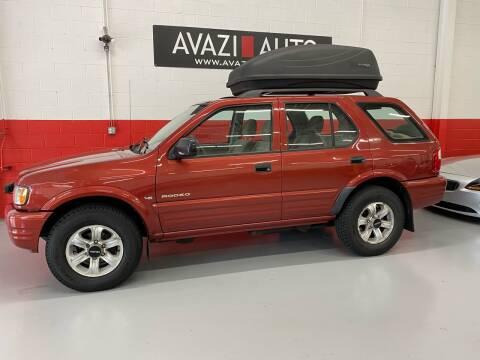 2000 Isuzu Rodeo for sale at AVAZI AUTO GROUP LLC in Gaithersburg MD