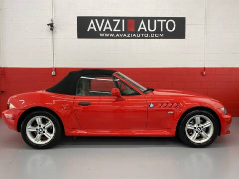 2001 BMW Z3 for sale at AVAZI AUTO GROUP LLC in Gaithersburg MD