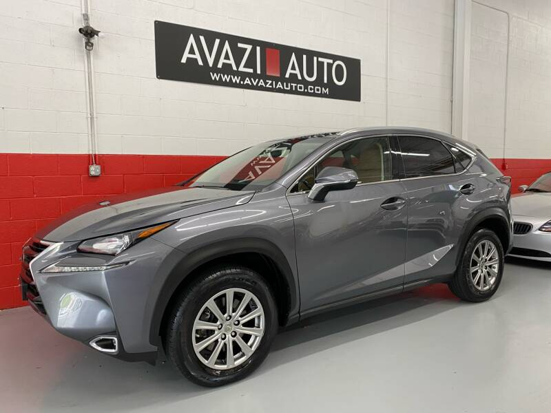 2016 Lexus NX 200t for sale at AVAZI AUTO GROUP LLC in Gaithersburg MD