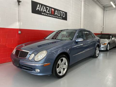 2005 Mercedes-Benz E-Class for sale at AVAZI AUTO GROUP LLC in Gaithersburg MD