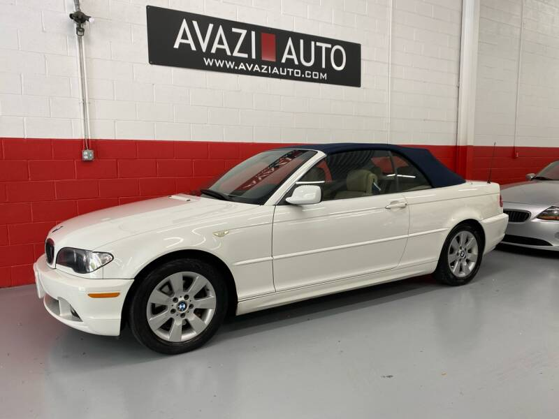 2006 BMW 3 Series for sale at AVAZI AUTO GROUP LLC in Gaithersburg MD