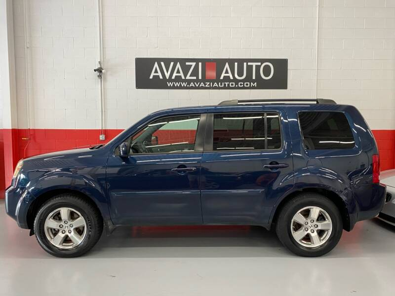2009 Honda Pilot for sale at AVAZI AUTO GROUP LLC in Gaithersburg MD