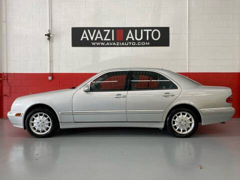 2001 Mercedes-Benz E-Class for sale at AVAZI AUTO GROUP LLC in Gaithersburg MD
