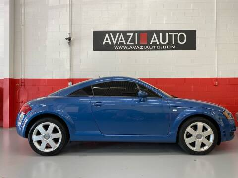 2000 Audi TT for sale at AVAZI AUTO GROUP LLC in Gaithersburg MD