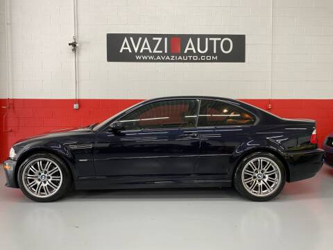 2003 BMW M3 for sale at AVAZI AUTO GROUP LLC in Gaithersburg MD