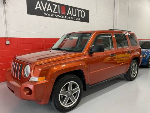 2009 Jeep Patriot for sale at AVAZI AUTO GROUP LLC in Gaithersburg MD