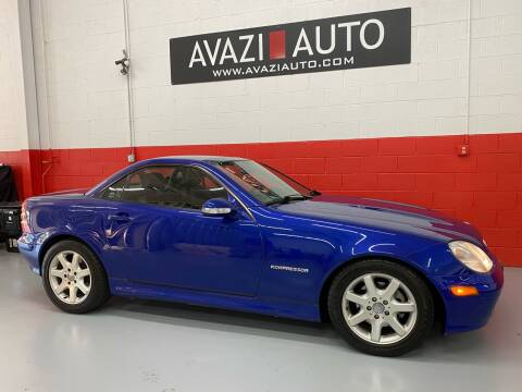 2004 Mercedes-Benz SLK for sale at AVAZI AUTO GROUP LLC in Gaithersburg MD