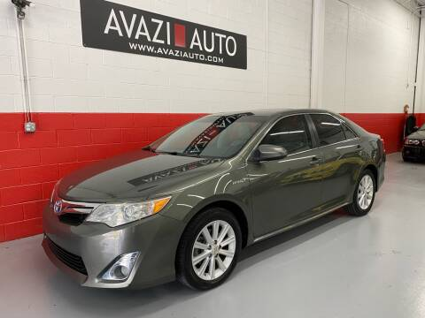 2012 Toyota Camry Hybrid for sale at AVAZI AUTO GROUP LLC in Gaithersburg MD