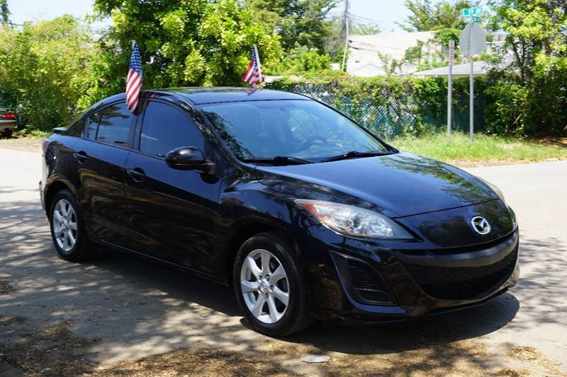 2010 MAZDA MAZDA3 I TOURING 4DR SEDAN 5A black  call 888-218-8442 - 888-218-8442 for sales