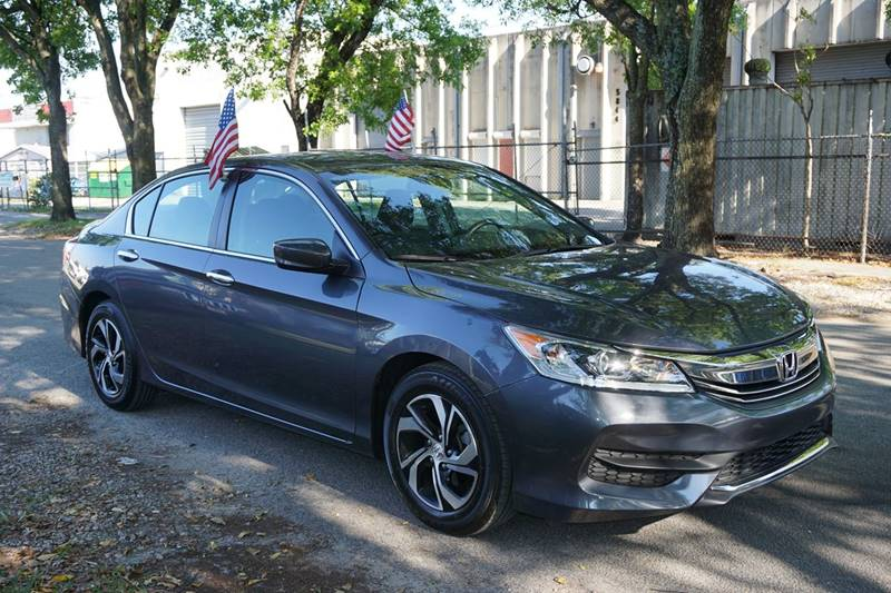 2016 HONDA ACCORD LX 4DR SEDAN CVT gray  call 888-218-8442 - 888-218-8442 for sales  this 2