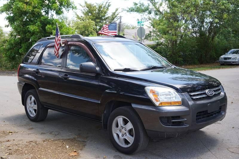 2007 KIA SPORTAGE LX 4DR SUV 2L I4 4A black  call 866-378-7964 for sales  this 2007 kia s