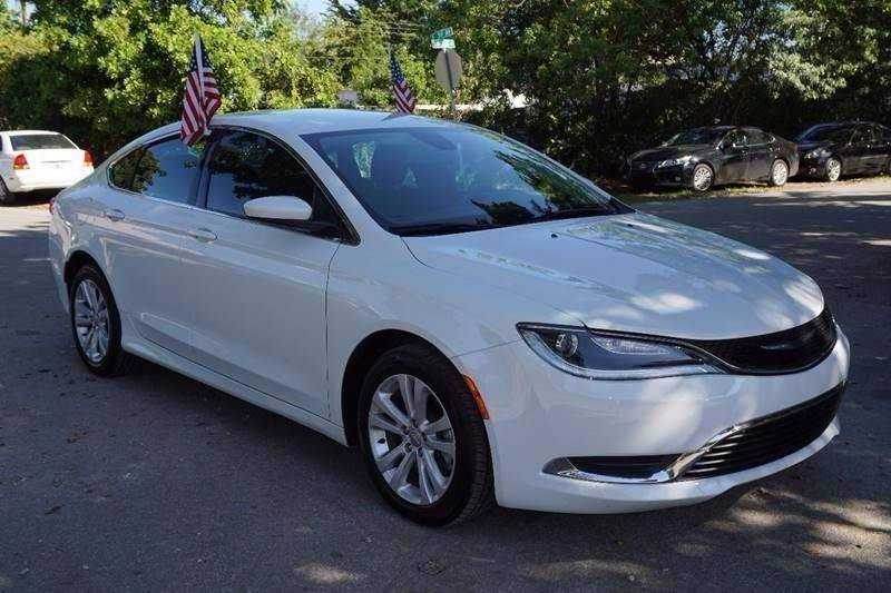 2016 CHRYSLER 200 LIMITED 4DR SEDAN white  call 866-378-7964 for sales  this 2016 chrysler