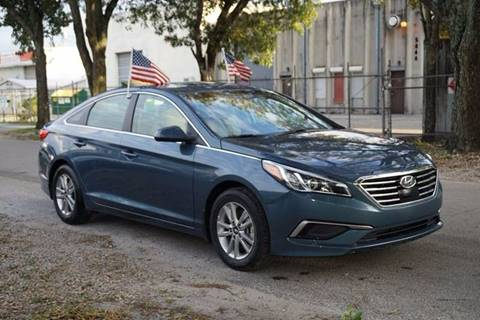 2015 Hyundai Sonata for sale at SUPER DEAL MOTORS in Hollywood FL