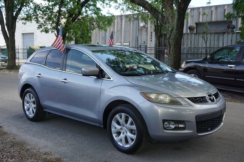 2007 MAZDA CX-7 GRAND TOURING 4DR SUV silver  call 866-378-7964 for sales  this 2007 mazda