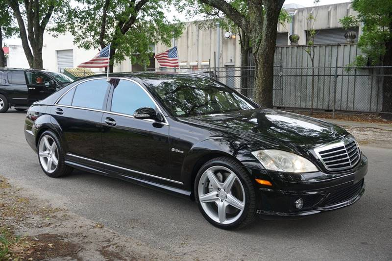 2008 MERCEDES-BENZ S-CLASS S 63 AMG 4DR SEDAN black  call 888-218-8442 - 888-218-8442 for sale
