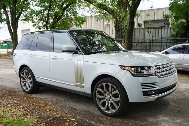 2015 LAND ROVER RANGE ROVER SUPERCHARGED 4X4 4DR SUV white  call 888-218-8442 - 888-218-8442 fo