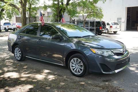 2012 Toyota Camry for sale in Hollywood, FL