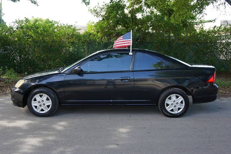 2003 Honda Civic LX 2dr Coupe - Hollywood FL