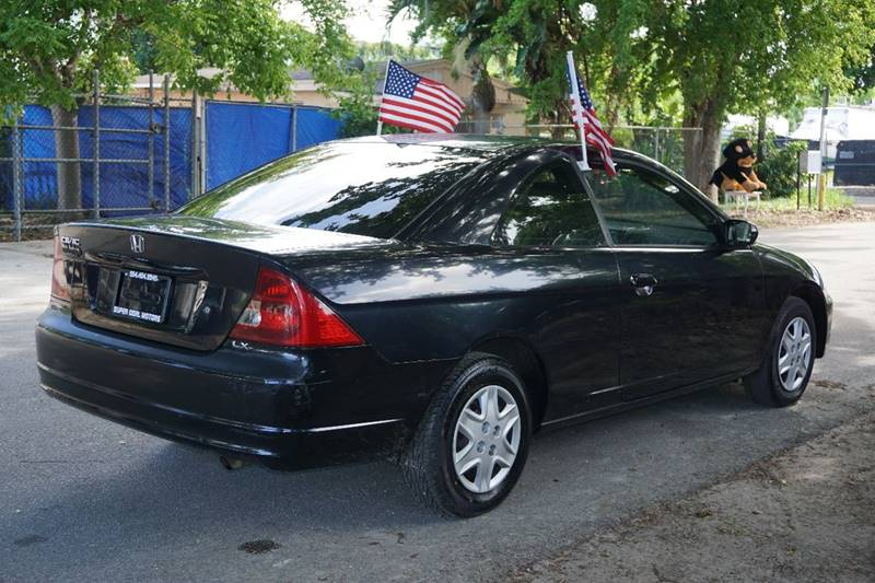 2003 Honda Civic LX 2dr Coupe - Hollywood FL