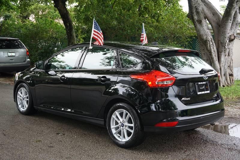 2016 Ford Focus SE 4dr Hatchback - Hollywood FL