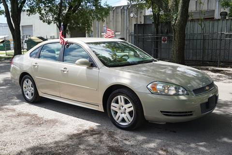 2012 Chevrolet Impala for sale in Hollywood, FL