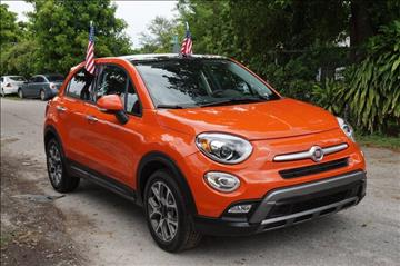 2016 FIAT 500X for sale in Hollywood, FL