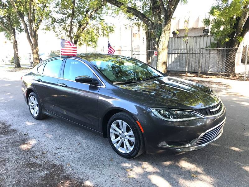 2016 CHRYSLER 200 LIMITED 4DR SEDAN gray  call 888-218-8442 - 888-218-8442 for sales  this