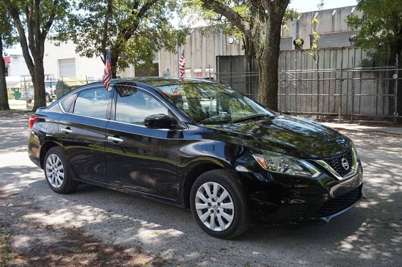 2016 NISSAN SENTRA SV 4DR SEDAN black  call 888-218-8442 - 888-218-8442 for sales  this 201