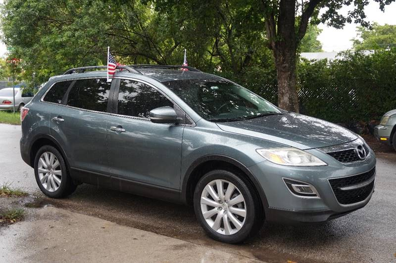 2010 MAZDA CX-9 GRAND TOURING 4DR SUV blue  call 888-218-8442 - 888-218-8442 for sales  thi