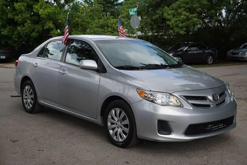 2013 TOYOTA COROLLA LE 4DR SEDAN 4A silver  call 888-218-8442 - 888-218-8442 for sales  thi